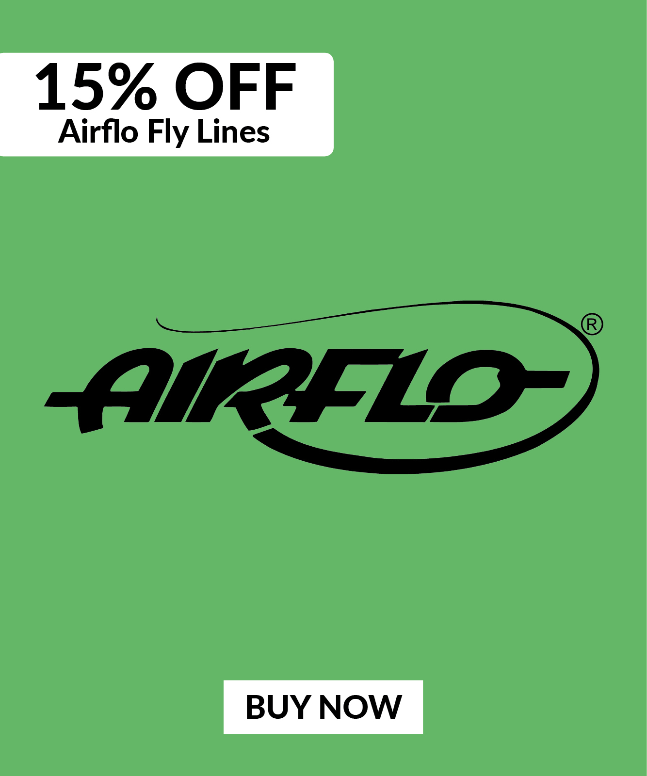 15% OFF Airflo Fly Lines
