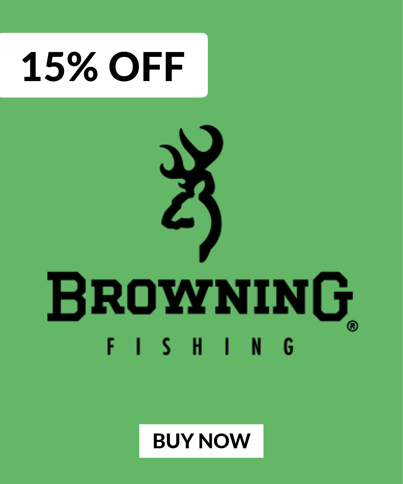 15% OFF Browning