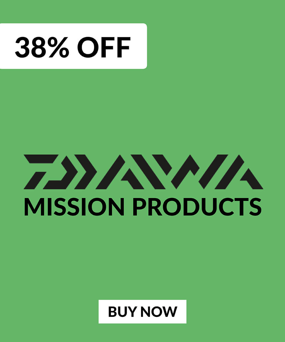 38% OFF Daiwa Mission Products