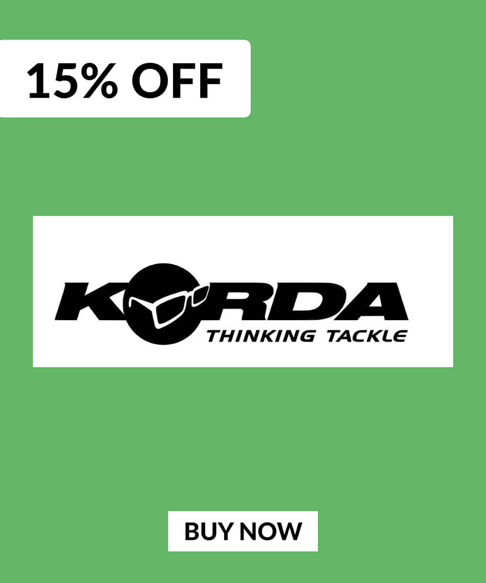 15% OFF Korda Products
