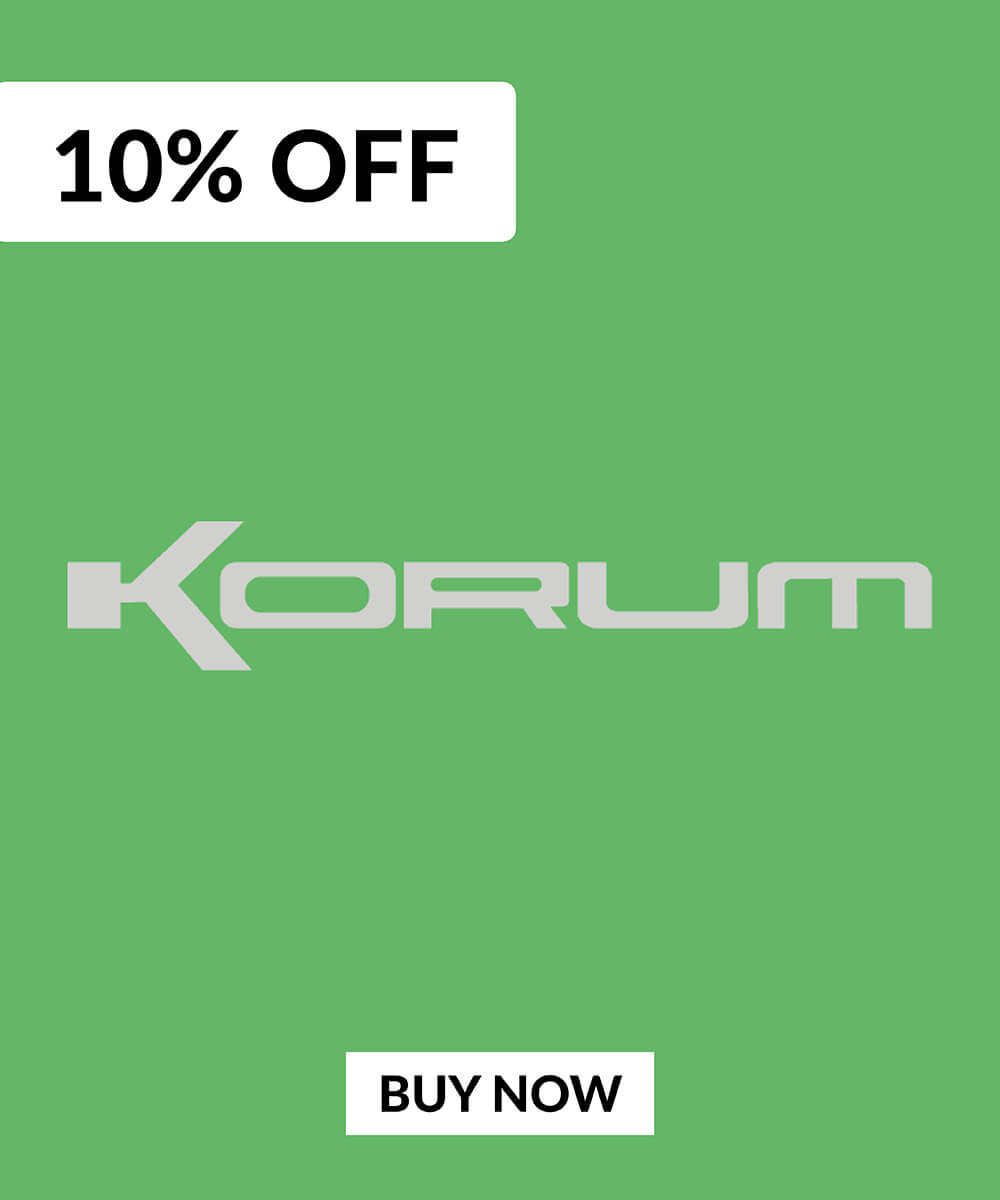 10% OFF Korum Products