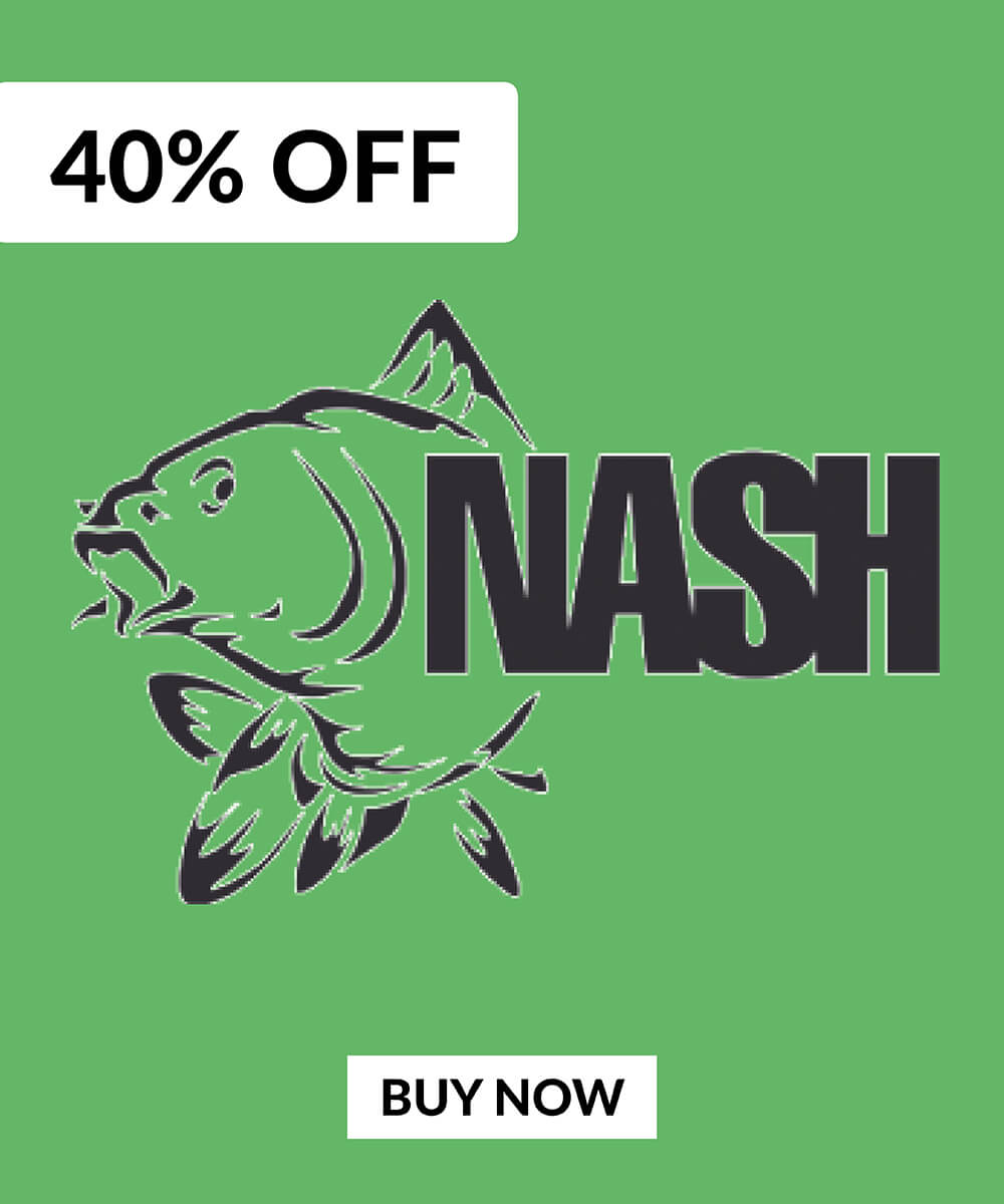 40% OFF Nash Products