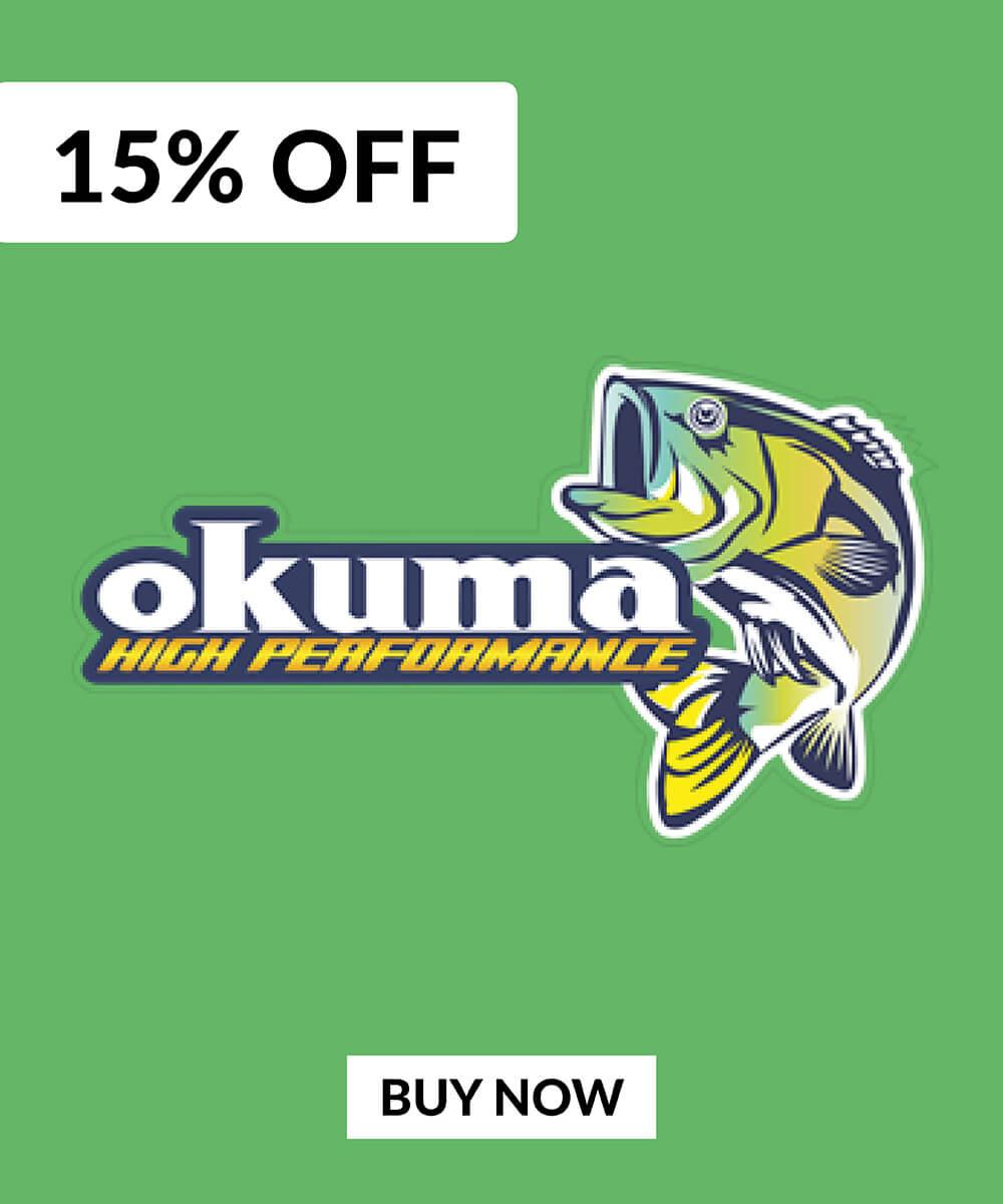 15% OFF Okuma Reels