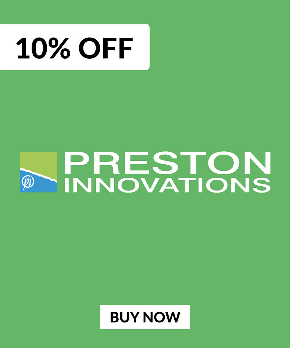 10% OFF Preston Innovations Products