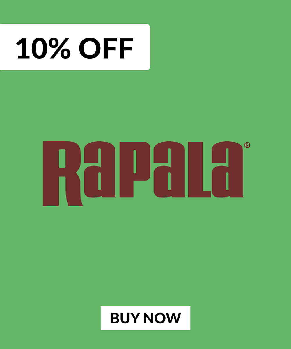 10% OFF Rapala Lures