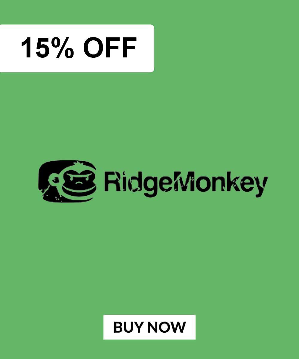 RidgeMonkey Deals 15% OFF