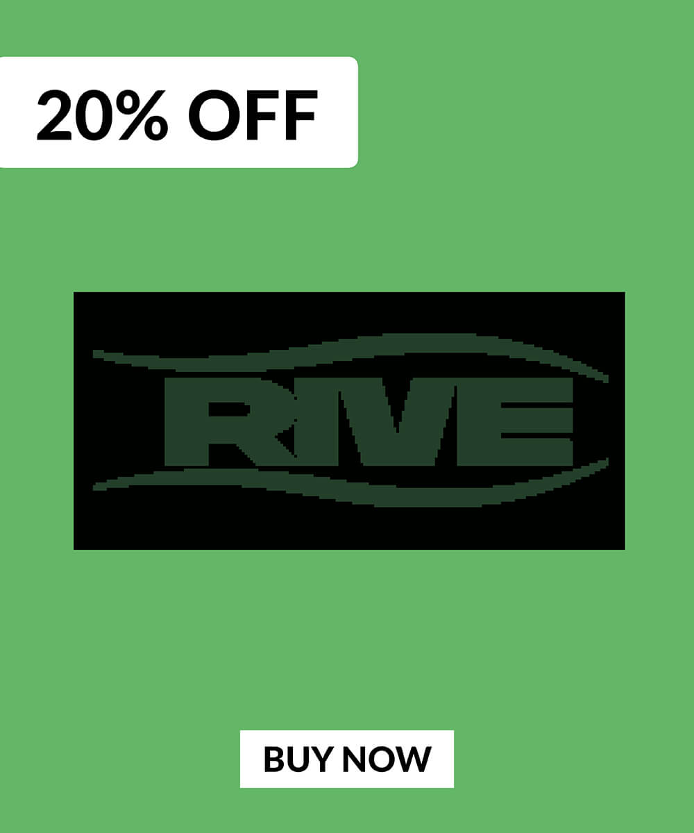 20% OFF Rive Products