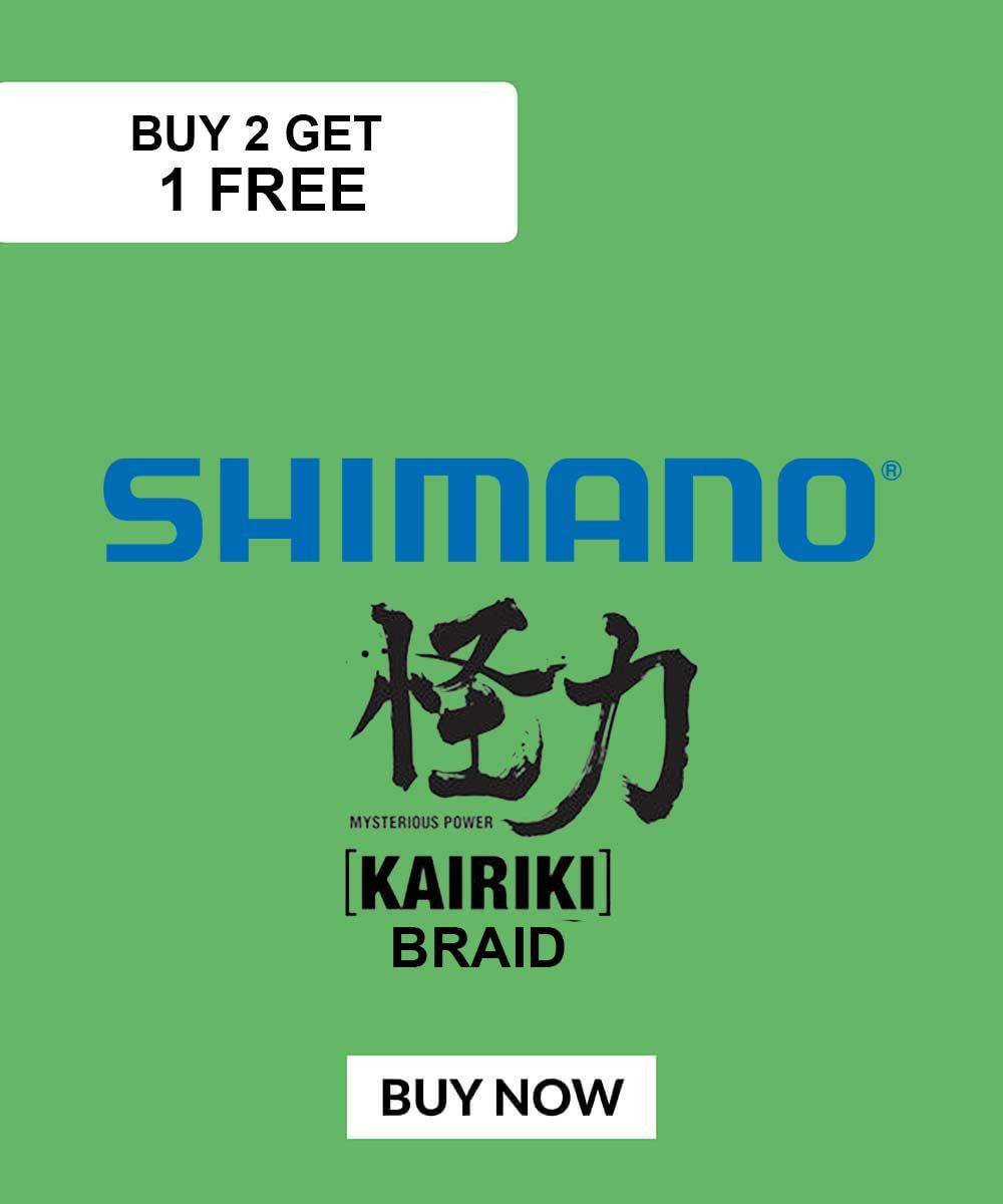 Shimano Kairiki Deal Buy 2 Get One Free