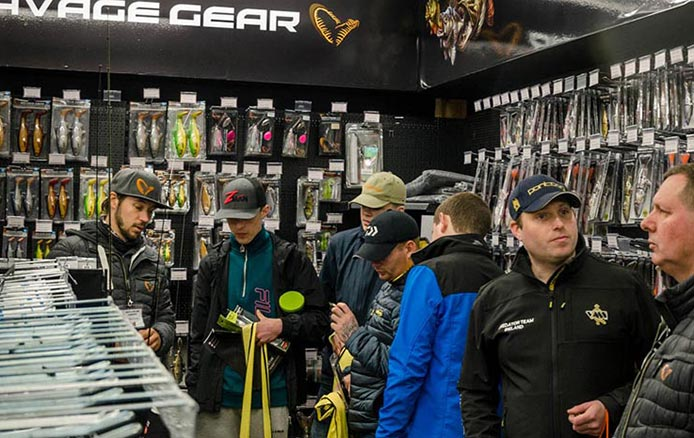 Fishing Tackle and Bait Store Savage Gear Department
