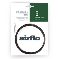 Airflo Polyleaders Trout 5'