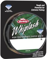 Berkley Whiplash Braid Green 300m