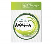 Cortland Toothy Critter Tie-able Stainless Trace Wire