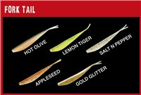 Fox Fish Snax Fork Tail Soft Lure 13.5cm