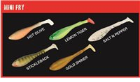 Fox Fish Snax Mini Fry Loaded Soft Lure 7cm
