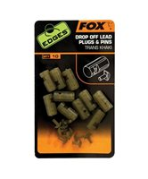 Fox Edges Drop Off Lead Plug & Pins Trans Khaki