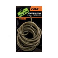 Fox Edges Leader silicone 0.5mm trans khaki