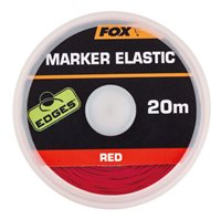 Fox Edges Marker Elastic x 20m RED