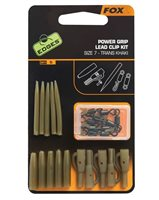 Fox Edges Power Grip Lead Clip Kit Trans Khaki