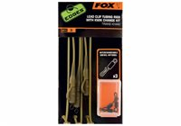 Fox Edges Trans Khaki tubing leadclips rigs