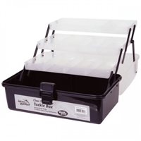 Jarvis Walker 3 Tray Clear Top Tackle Box