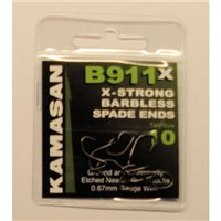 Kamasan B911X Barbless Spade End Hook