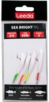 Leeda Sea Bright 4 Hook rig  Size 3/0 50lb Line