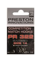 Preston Innovations PR322 Competition Micro Barb Hooks