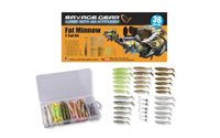 Savage Gear Fat Minnow T-Tail Kit 36pcs
