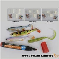 Savage Gear Soft lure and Markers