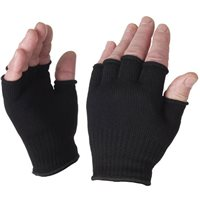 Sealskinz Sealskinz Fingerless Merino Glove Liner  - one size
