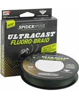 Spiderwire Fluorobraid - Moss Green 300Yd