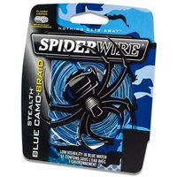 Spiderwire Stealth Blue Camo Braid 300yds