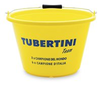 Tubertini Yellow Groundbait Buckets