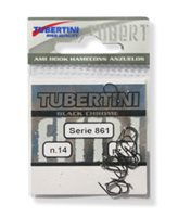 Tubertini Series 861 Barbless Eyed Hooks