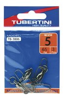 Tubertini Ball Bearing German Snap Swivels (TB3806)