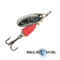 Blue Fox Vibrax Fluorescent Spinners Size 3 SFRP
