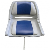 Waveline Molded Padded Folding Boat Seat