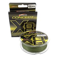 Tubertini Braided Line Concept X8, 150 yards