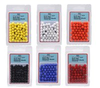 Shakespeare 8mm Rig Attractor Beads Yellow - 50Pcs