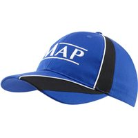 Map Cap Blue