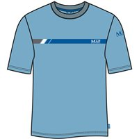 Map Graphic T-Shirt Sky Blue