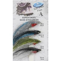 Dragon Tackle Supertinsel bass Streamers