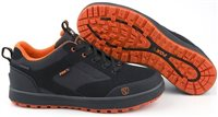 Fox Black & Orange Trainers