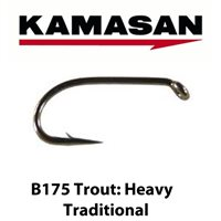 Kamasan B175 Heavy Traditional Trout Hooks