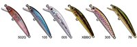 Strike Pro Dwarf Swing Minnow Lure 53mm