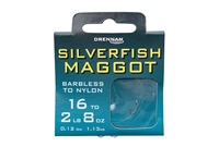 Drennan Silverfish Maggot Hooks To Nylon