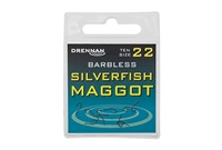 Drennan Barbless Silverfish Maggot Hooks