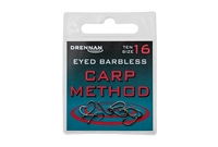 Drennan Eyed Barbless Carp Method Hooks