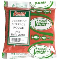 Sensas Terre De Surface Rouge Leam