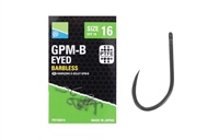 Preston Innovations GPM-B Eyed Barbless Hooks